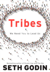 Cover of Seth Godin's 2008 book Tribes